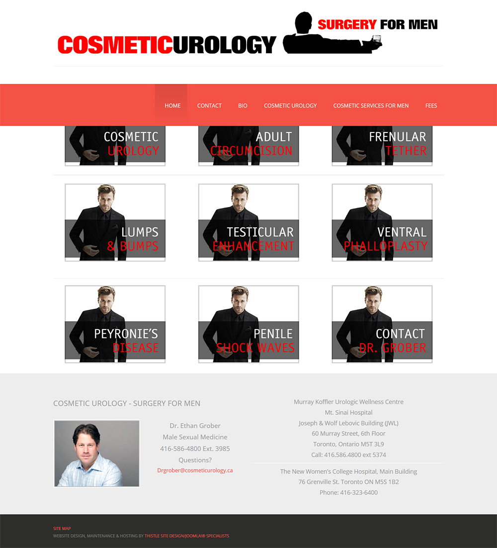 Cosmetic Urology Toronto