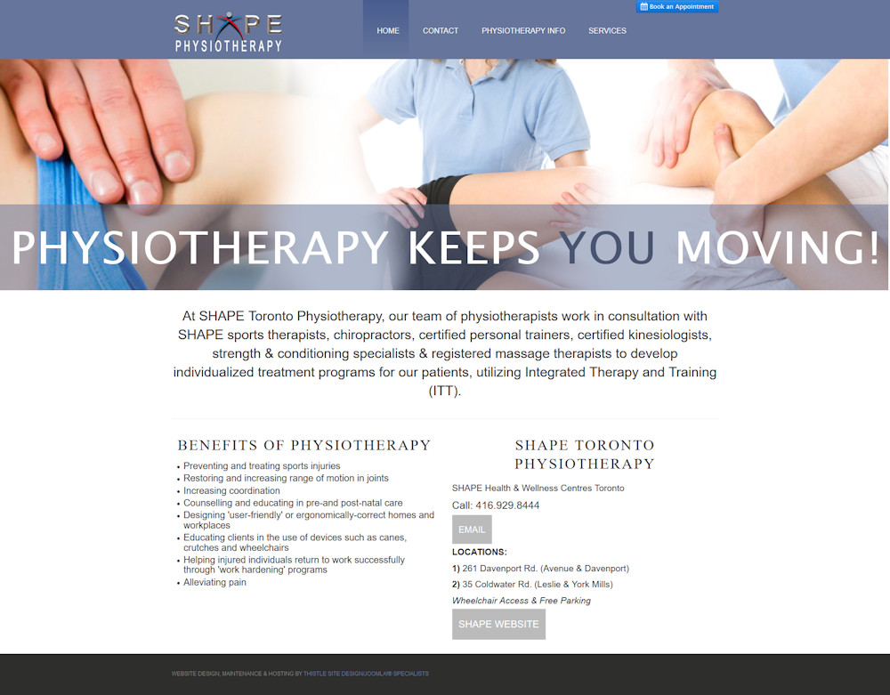 SHAPE Toronto Physiotherapy